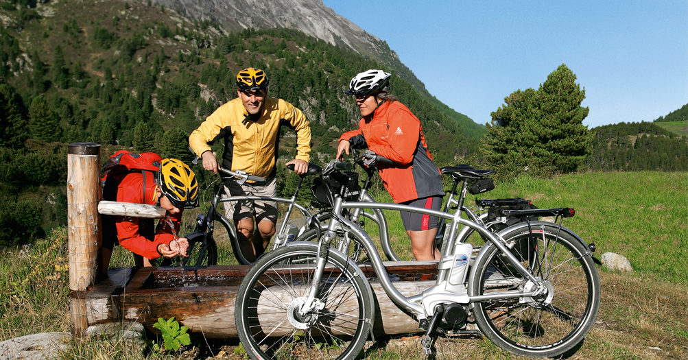 Mountainbiking in Serfaus